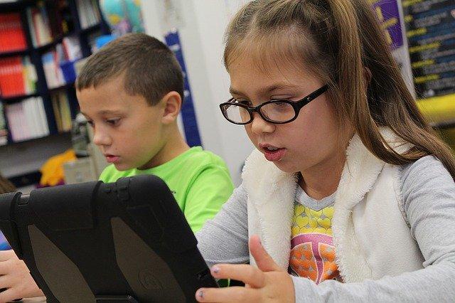 子供達 パソコン